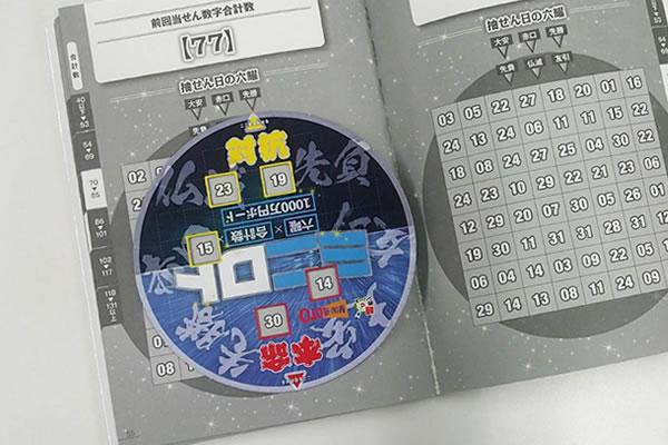 ミニロト六耀×合計数×1000万円ボード対抗