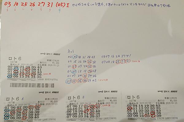 【夢の高額当せん者インタビュー】積もり積もった不幸の先に手にしたロト6・2等1167万円当せん者のロト6の券はコピー