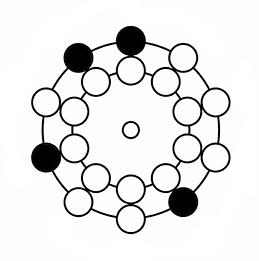 大石工房の「ナンバーズ4 回転盤攻略法」3月16日(月)~20日(金)オススメパターンA(ボックス)