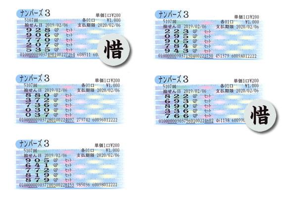 編集長・涙の自腹検証企画 2月4日~8日の大阪抽せんをクイックピックで買ってみた!!ナンバーズ3水