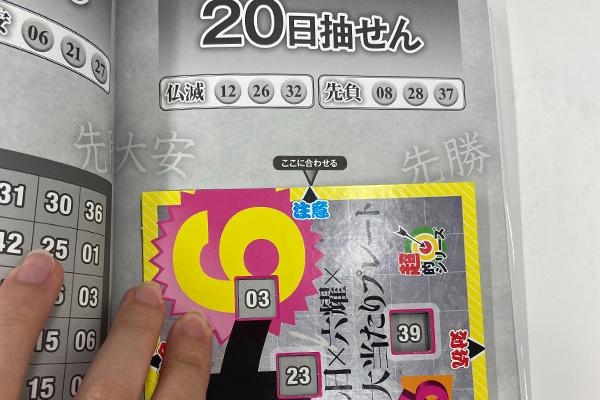 「抽せん日×六耀×6億円大当たりプレート」第1501回ロト6予想 注意