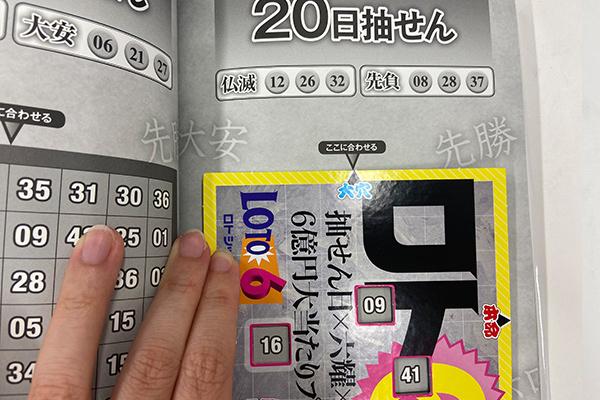 「抽せん日×六耀×6億円大当たりプレート」第1501回ロト6予想 大穴
