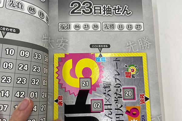「抽せん日×六耀×6億円大当たりプレート」第1502回ロト6予想 注意
