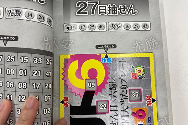 「抽せん日×六耀×6億円大当たりプレート」第1503回ロト6予想 注意