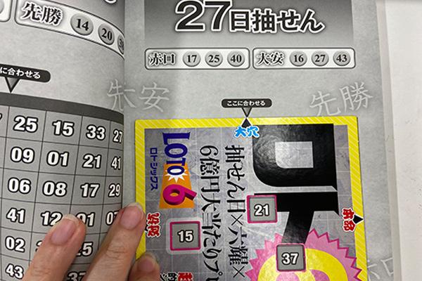 「抽せん日×六耀×6億円大当たりプレート」第1503回ロト6予想 大穴