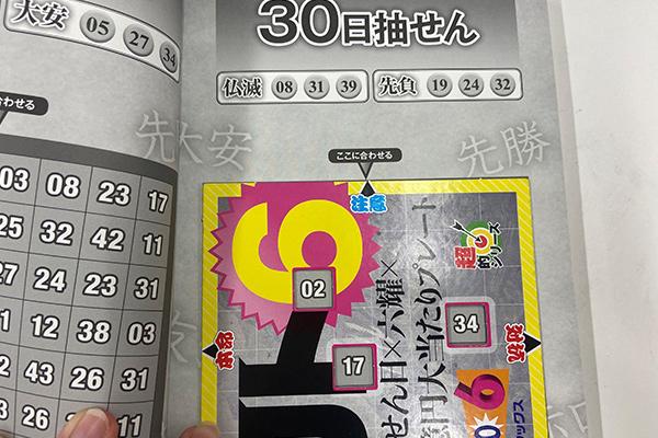 「抽せん日×六耀×6億円大当たりプレート」第1504回ロト6予想 注意