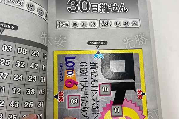 「抽せん日×六耀×6億円大当たりプレート」第1504回ロト6予想 大穴