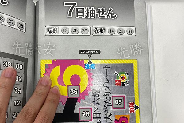 「抽せん日×六耀×6億円大当たりプレート」第1515回ロト6予想 注意