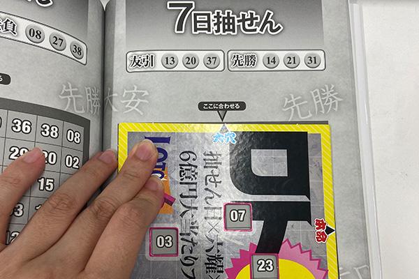 「抽せん日×六耀×6億円大当たりプレート」第1515回ロト6予想 大穴