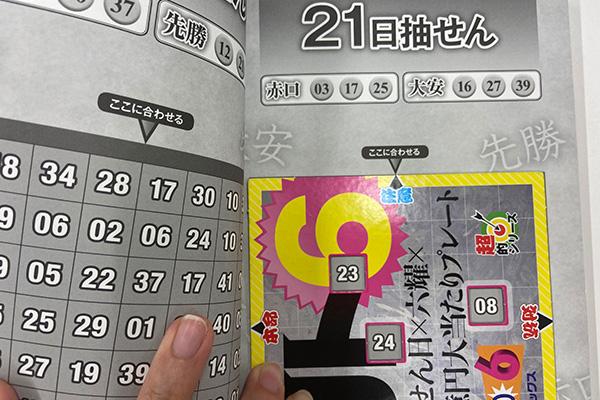 「抽せん日×六耀×6億円大当たりプレート」第1519回ロト6予想注意