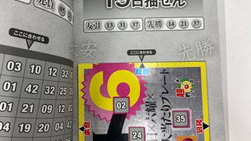 【ロト6】「抽せん日×六耀×6億円大当たりプレート」第1536回(2020年11月19日抽せん)注意予想