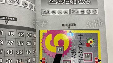 【ロト6】「抽せん日×六耀×6億円大当たりプレート」第1538回(2020年11月26日抽せん)注意予想
