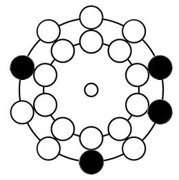 【ナンバーズ4】大石工房の「回転盤攻略法」11月23日(月)~27日(金)予想